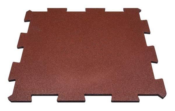 Dalle de caoutchouc recyclée SBR DC / PUZZLE / épaisseur 2 - 3 - 4 cm