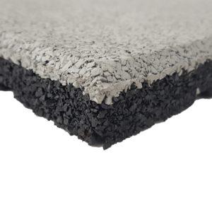 Dalles caoutchouc recyclées SBR et EPDM épaisseur 2 - 3 - 4 ou 5 cm