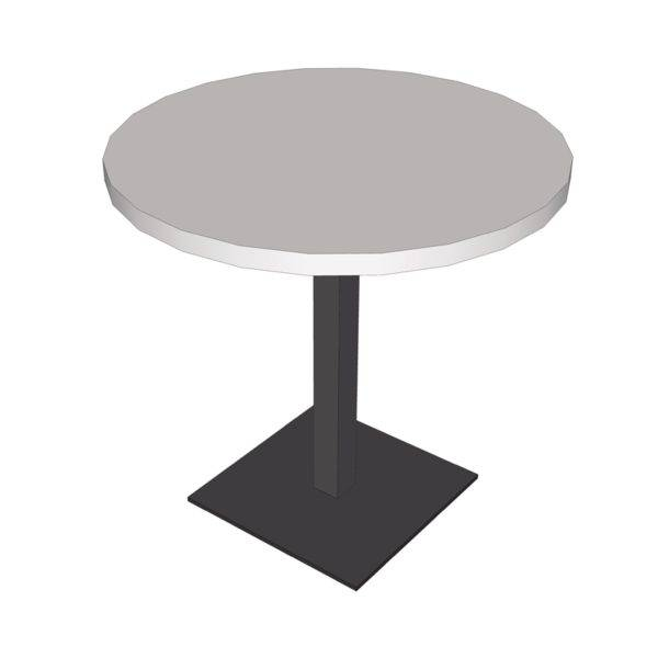 "Table ""bistrot"" ronde"