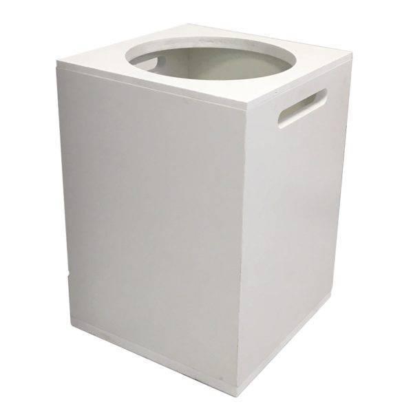 Poubelle vestiaires / toilettes