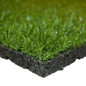 Dalles pelouse caoutchouc recyclé SBR